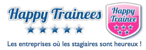 Happy Trainees, 1er Label de Qualité des Stages. Classement des entreprises préférées des stagiaires
