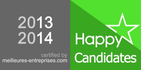 LogoLabel HappyCandidates