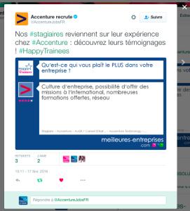 Tweet Accenture